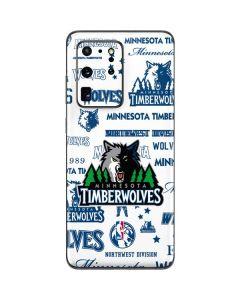 Minnesota Timberwolves Historic Blast Galaxy S20 Ultra 5G Skin