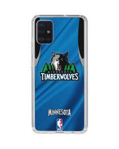 Minnesota Timberwolves Jersey Galaxy A51 Clear Case