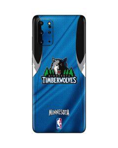 Minnesota Timberwolves Jersey Galaxy S20 Plus Skin