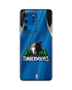 Minnesota Timberwolves Jersey Galaxy S20 Ultra 5G Skin