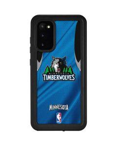 Minnesota Timberwolves Jersey Galaxy S20 Waterproof Case