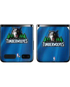 Minnesota Timberwolves Jersey Galaxy Z Flip Skin
