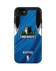 Minnesota Timberwolves Jersey iPhone SE Wallet Case