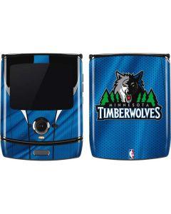 Minnesota Timberwolves Jersey Motorola RAZR Skin