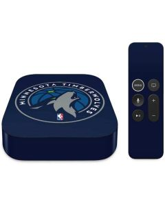 Minnesota Timberwolves Large Logo Apple TV Skin