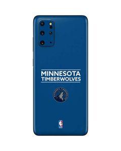 Minnesota Timberwolves Standard - Blue Galaxy S20 Plus Skin