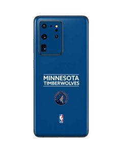 Minnesota Timberwolves Standard - Blue Galaxy S20 Ultra 5G Skin
