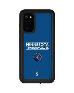 Minnesota Timberwolves Standard - Blue Galaxy S20 Waterproof Case