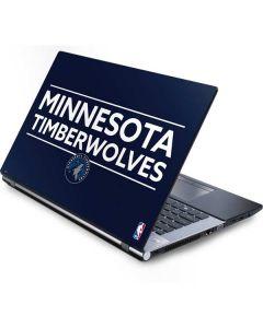 Minnesota Timberwolves Standard - Navy Blue Generic Laptop Skin