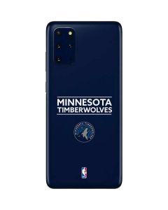 Minnesota Timberwolves Standard - Navy Blue Galaxy S20 Plus Skin