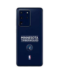 Minnesota Timberwolves Standard - Navy Blue Galaxy S20 Ultra 5G Skin