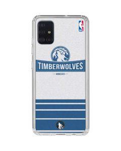 Minnesota Timberwolves Static Galaxy A51 Clear Case