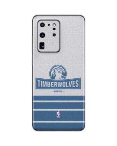 Minnesota Timberwolves Static Galaxy S20 Ultra 5G Skin