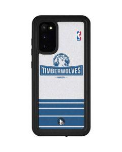 Minnesota Timberwolves Static Galaxy S20 Waterproof Case