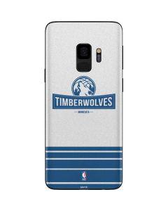 Minnesota Timberwolves Static Galaxy S9 Skin