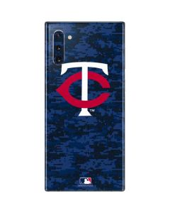 Minnesota Twins Digi Camo Galaxy Note 10 Skin