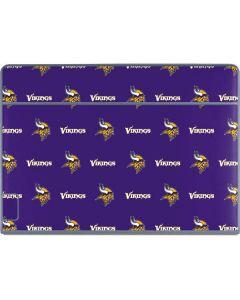 Minnesota Vikings Blitz Series Galaxy Book Keyboard Folio 12in Skin