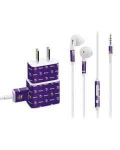 Minnesota Vikings Blitz Series Phone Charger Skin