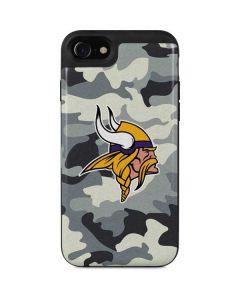Minnesota Vikings Camo iPhone SE Wallet Case