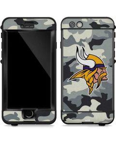 Minnesota Vikings Camo LifeProof Nuud iPhone Skin