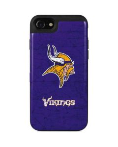 Minnesota Vikings Distressed iPhone SE Wallet Case