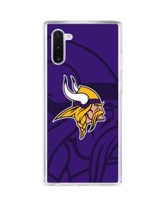 Minnesota Vikings Double Vision Galaxy Note 10 Clear Case