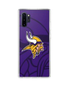 Minnesota Vikings Double Vision Galaxy Note 10 Plus Clear Case
