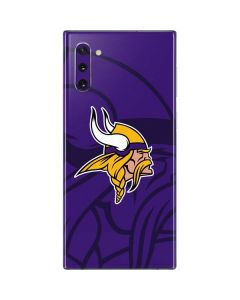 Minnesota Vikings Double Vision Galaxy Note 10 Skin