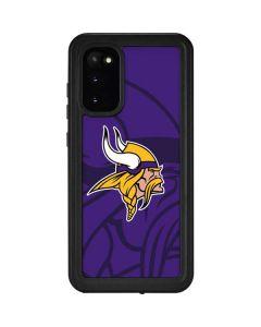 Minnesota Vikings Double Vision Galaxy S20 Waterproof Case