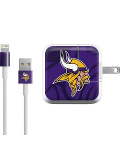 Minnesota Vikings Double Vision iPad Charger (10W USB) Skin