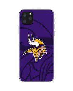 Minnesota Vikings Double Vision iPhone 11 Pro Max Skin