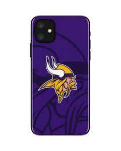 Minnesota Vikings Double Vision iPhone 11 Skin