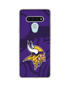 Minnesota Vikings Double Vision LG Stylo 6 Clear Case