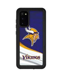 Minnesota Vikings Galaxy S20 Waterproof Case