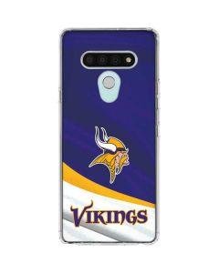 Minnesota Vikings LG Stylo 6 Clear Case