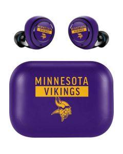 Minnesota Vikings Purple Performance Series Amazon Echo Buds Skin