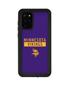 Minnesota Vikings Purple Performance Series Galaxy S20 Plus Waterproof Case