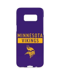 Minnesota Vikings Purple Performance Series Galaxy S8 Plus Lite Case