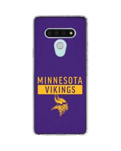Minnesota Vikings Purple Performance Series LG Stylo 6 Clear Case