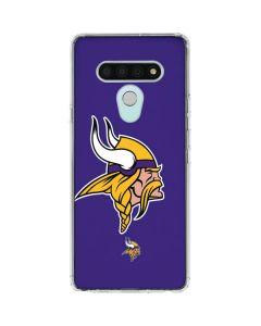 Minnesota Vikings Retro Logo LG Stylo 6 Clear Case
