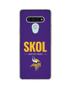 Minnesota Vikings Team Motto LG Stylo 6 Clear Case