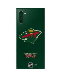 Minnesota Wild Distressed Galaxy Note 10 Skin