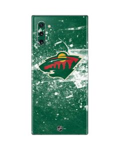 Minnesota Wild Frozen Galaxy Note 10 Skin