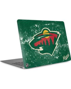 Minnesota Wild Frozen Apple MacBook Air Skin