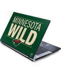 Minnesota Wild Lineup Generic Laptop Skin