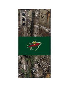 Minnesota Wild Realtree Xtra Camo Galaxy Note 10 Skin