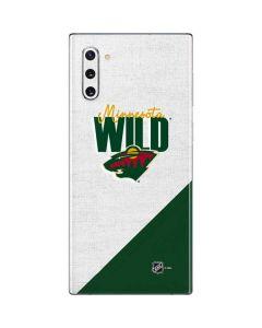 Minnesota Wild Script Galaxy Note 10 Skin