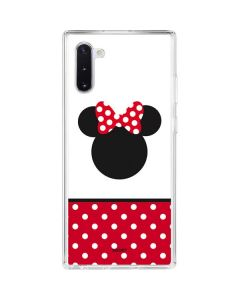 Minnie Mouse Symbol Galaxy Note 10 Clear Case