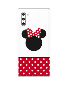 Minnie Mouse Symbol Galaxy Note 10 Skin