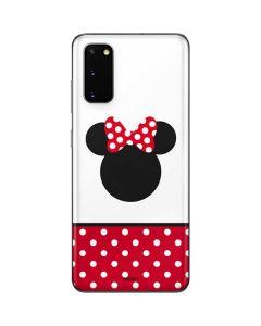 Minnie Mouse Symbol Galaxy S20 Skin